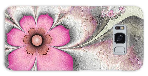 Fractal Nostalgic Flowers 2 Galaxy Case by Gabiw Art