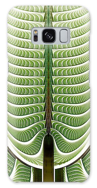 Fractal Pine Galaxy Case by Anastasiya Malakhova