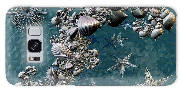 Fractal Sea Life Galaxy Case by Manny Lorenzo