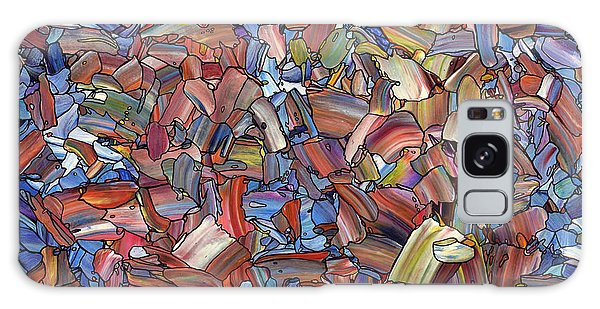 Glass Galaxy Case - Fragmented Rose by James W Johnson
