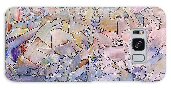 Abstract Landscape Galaxy Case - Fragmented Sea - Square by James W Johnson