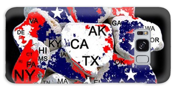 Us Civil War Galaxy Case - Fragmented States Of The Union by Bruce Iorio