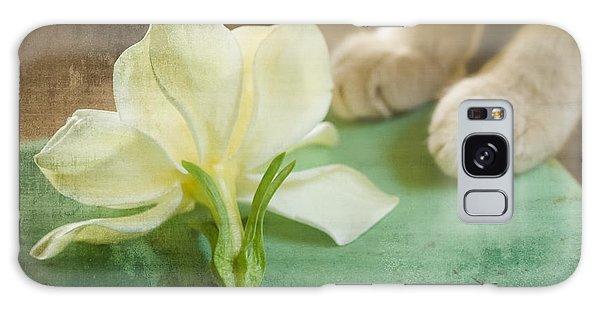 Fragrant Gardenia Galaxy Case