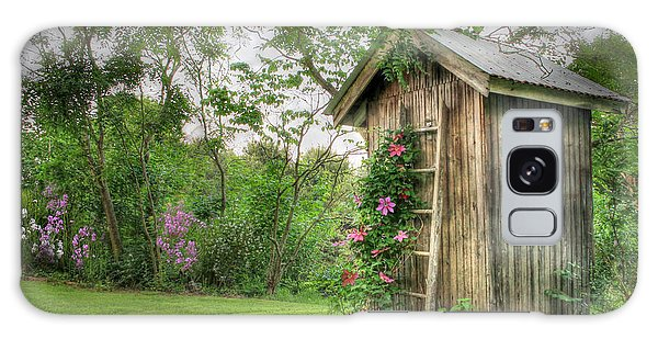 Fragrant Outhouse Galaxy Case by Lori Deiter