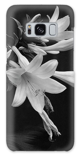 Fragrant Plantain Lily Galaxy Case