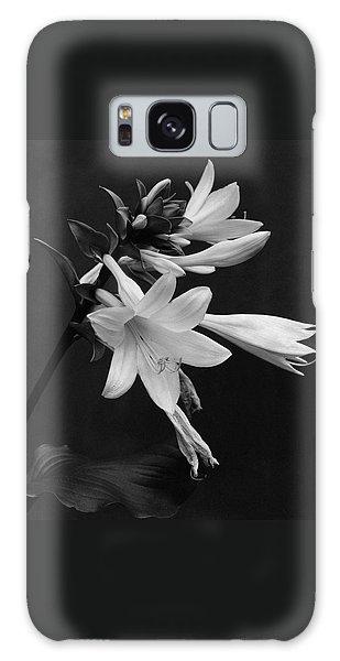 Fragrant Plantain Lily Galaxy Case