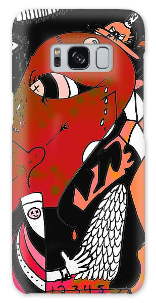 Feather Stars Galaxy Case - Frailty Of Festive by The Artist Project