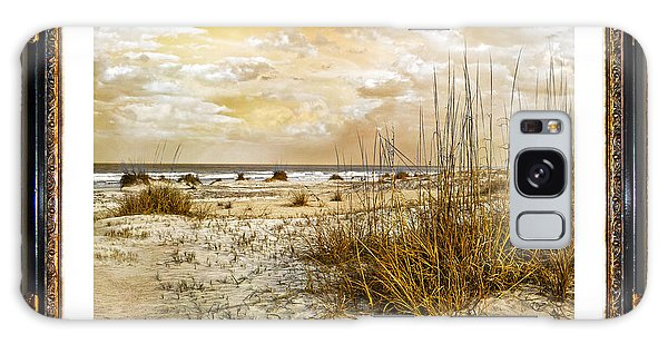 Time Frame Galaxy Case - Framed Dunes by Betsy Knapp