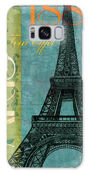 Francaise 1 Galaxy Case by Debbie DeWitt