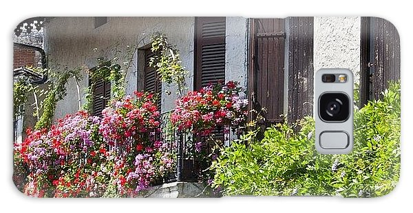 Summer Galaxy Case - #france #summer #flowers #balcony by Georgia Fowler