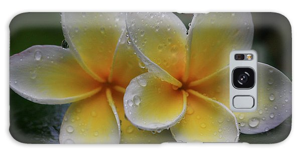 Frangipani Pair Galaxy Case
