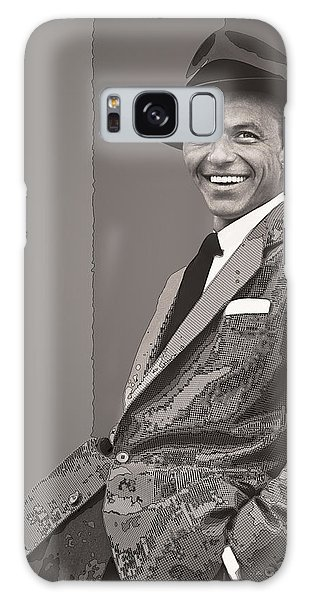 Frank Sinatra Galaxy Case by Daniel Hagerman