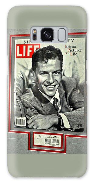 Frank Sinatra Life Cover Galaxy Case