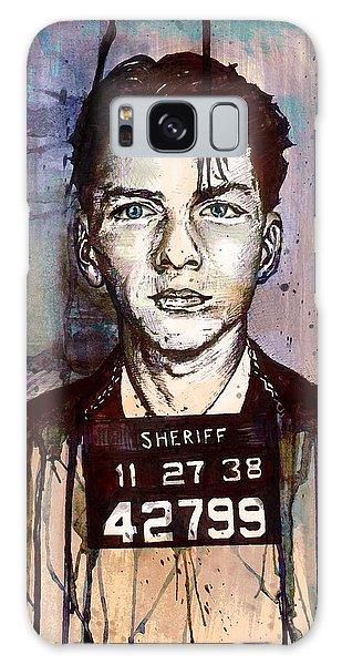 Frank Sinatra Mug Shot Galaxy Case