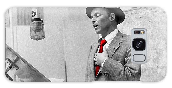Frank Sinatra Painting Galaxy Case