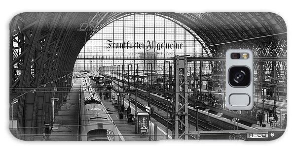 Frankfurt Bahnhof - Train Station Galaxy Case