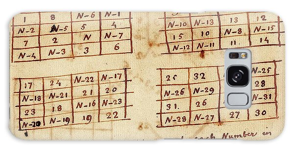 No-one Galaxy Case - Franklin's Magic Squares by American Philosophical Society