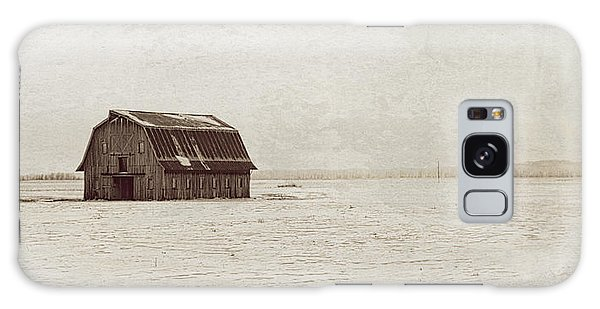 Frechman Barn With Textures Galaxy Case by Wayne Meyer