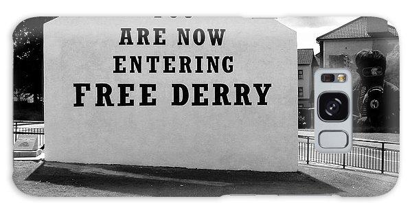 Free Derry Corner Galaxy Case by Nina Ficur Feenan