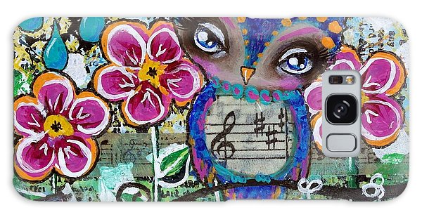 Free To Fly Galaxy Case by Lizzy Love of Oddball Art Co