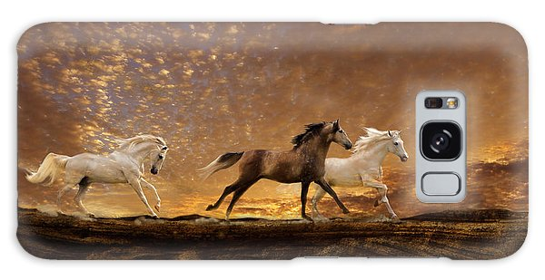 Freed Spirits Galaxy Case by Melinda Hughes-Berland