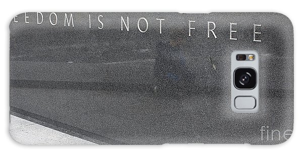 Freedom Is Not Free Galaxy Case by Steven Ralser