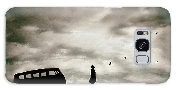 Men Galaxy Case - Freedom by Petri Damst?n