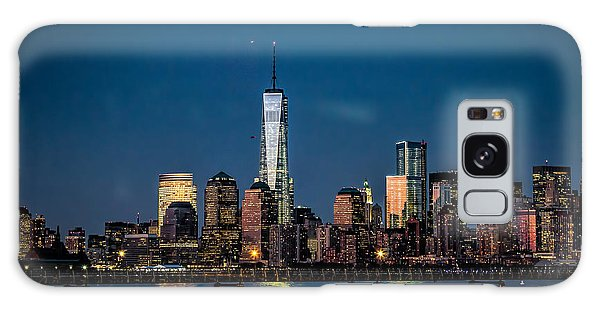 Freedom Tower As Seen From Liberty State Park Galaxy Case by Eleanor Abramson