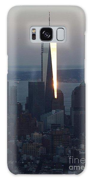 Freedom Tower Galaxy Case by John Telfer