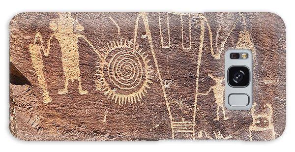 Freemont Culture Petroglyphs Galaxy Case