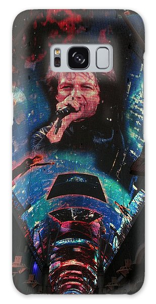 Fremont Street Experience Galaxy Case by Kay Novy