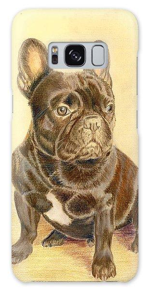 French Bulldog Galaxy Case by Ruth Seal