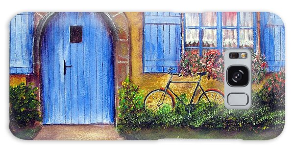 French Cottage Galaxy Case