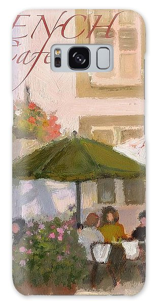 French Country Poster Galaxy Case