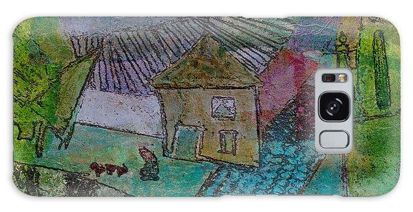 French Farm Galaxy Case by Catherine Redmayne