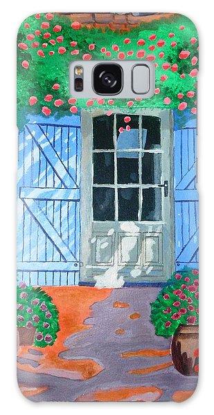French Farm Yard Galaxy Case by Magdalena Frohnsdorff