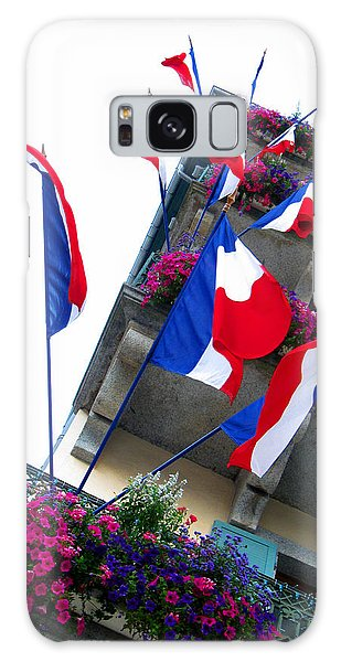 Buy Art Online Galaxy Case - French Flags by Alexandros Daskalakis