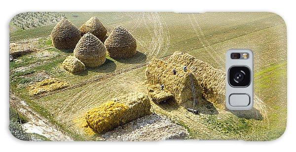 French Haystacks Galaxy Case