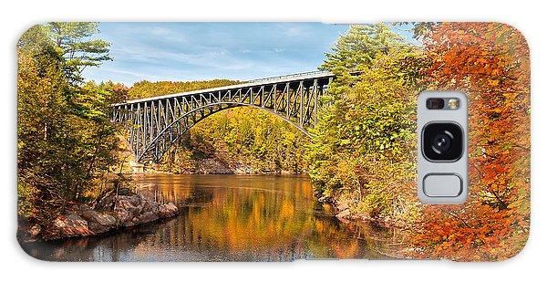French King Bridge In Autumn Galaxy Case