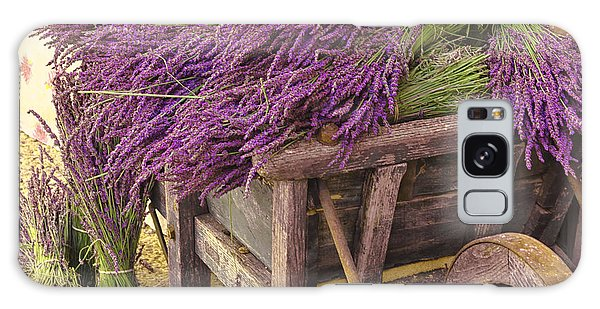 French Lavender Cart Galaxy Case