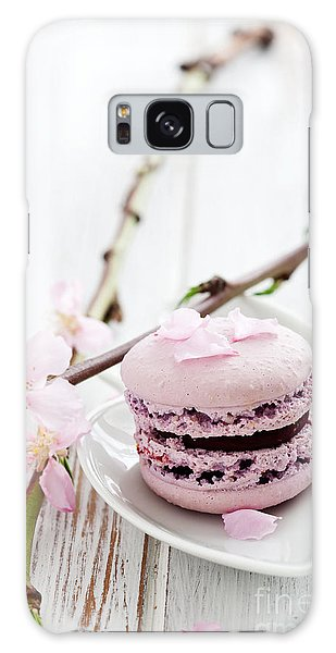 French Macaroons Galaxy Case
