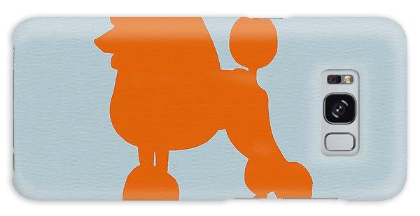 French Galaxy Case - French Poodle Orange by Naxart Studio