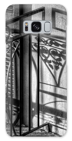 French Quarter Balcony Shadow Galaxy Case