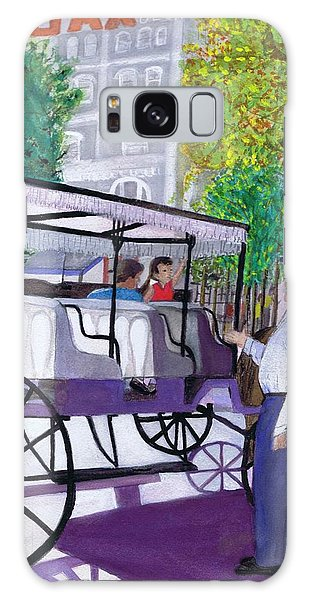 French Quarter Buggy Tour Galaxy Case