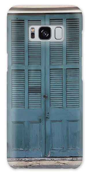 French Quarter Doors Galaxy Case