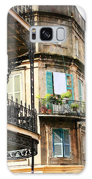French Quarter Morning Galaxy Case