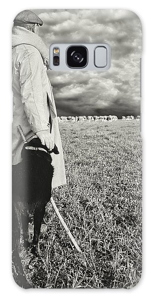 French Shepherd - B W Galaxy Case by Chuck Staley