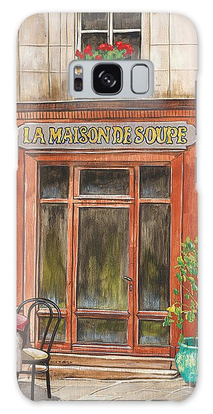 French Galaxy Case - French Storefront 1 by Debbie DeWitt