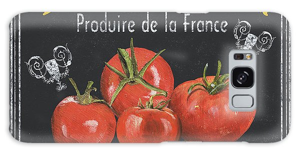 Outdoor Galaxy Case - French Vegetables 1 by Debbie DeWitt