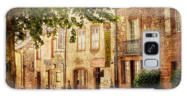 Galaxy Case featuring the photograph French Village Street / Meyssac by Barry O Carroll